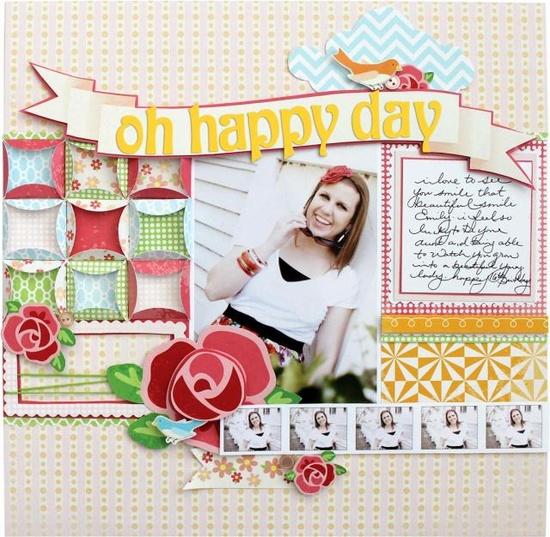 Oh Happy Day - Scrapbook.com