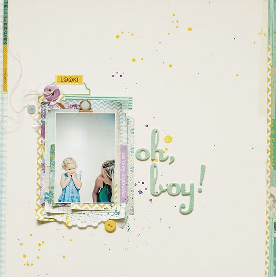 simple scrapbooking