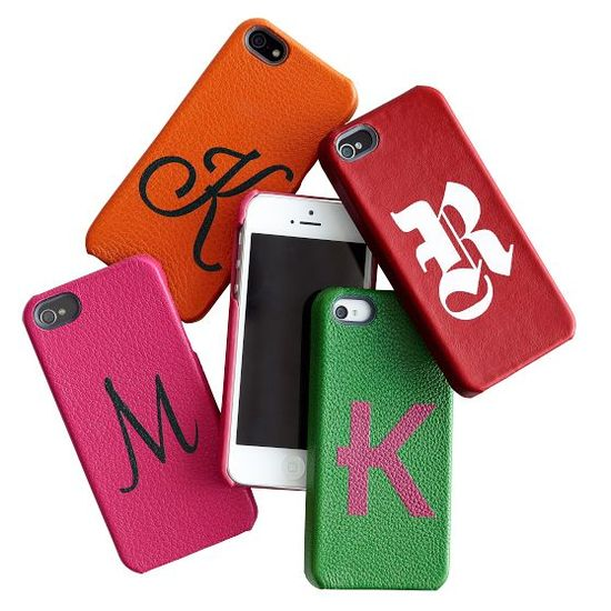 monogrammed iphone case from @Mark Van Der Voort and graham #gift