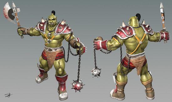 3d character design illustration