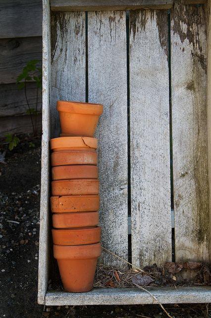 Pots, everywhere pots!!! (: