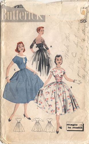 1950's Party dress - thanks, Kelly!