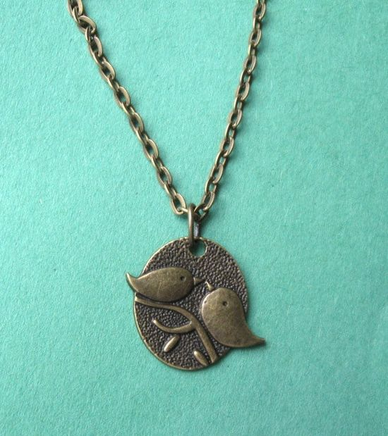 Birds of a Feather necklace. $17.00.  So charming.  Love this.