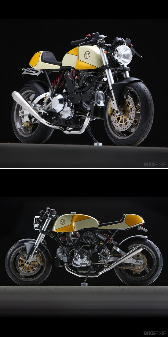 Here's the latest Ducati cafe racer to roll out of Walt Siegl's New Hampshire workshop. What would you give to put it in your garage?