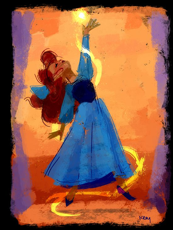 These Disney Princess Paintings Will Brighten Your Day - Disney Blogs