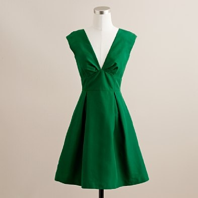 Cotton-silk faille Margeaux dress from J.Crew, $195