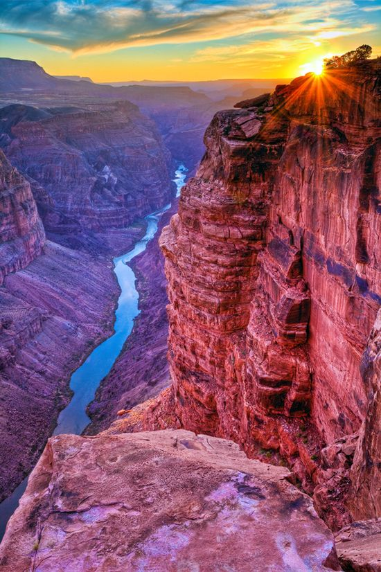 twilight over the Grand Canyon