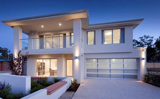 Modern Home Design with 2
