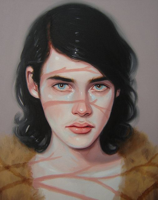 kris Knight paintings.