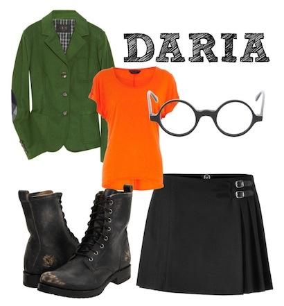 DIY Daria Costume