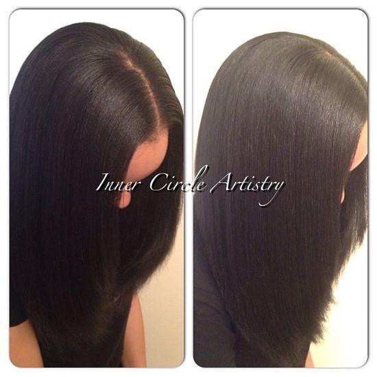 Simply FLAWLESS!!! Sew-in Hair Weaves by Natalie B. @Natalie Birdsong..