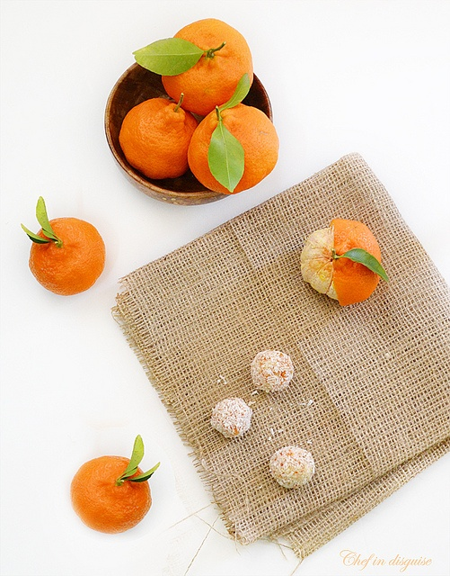 clementine dessert balls  As Seen on CompleteRecipes.com