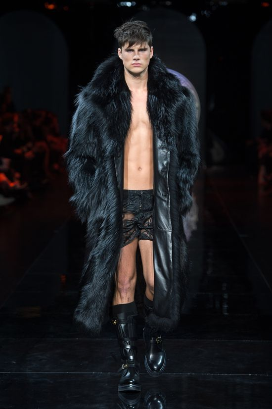#Fur - Versace Men's Fall Winter 2013
