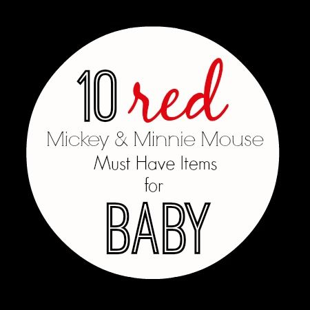 Stylish in Red Disney Baby Clothes