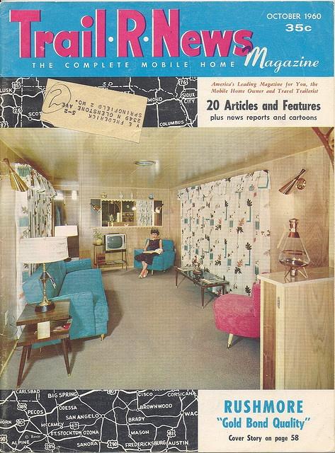 Trail R News magazine vintage travel trailer 1960s
