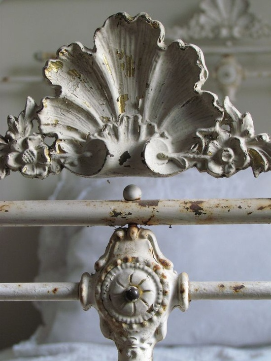 Antique French bed