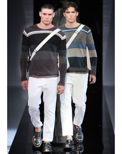 I like these sweaters a lot and colors the hint of white is awesome