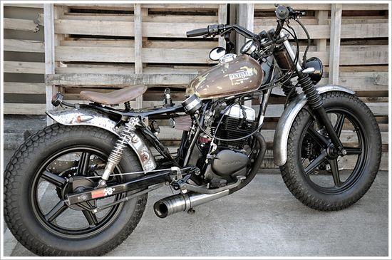 1992 Honda CB250 - Rene9ade Custom Motorcycles - Pipeburn - Purveyors of Classic Motorcycles, Cafe Racers & Custom motorbikes