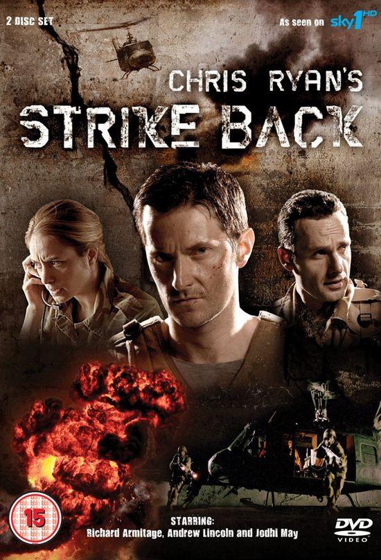 Strike Back: Strike Back Season 1 Poster (UK).