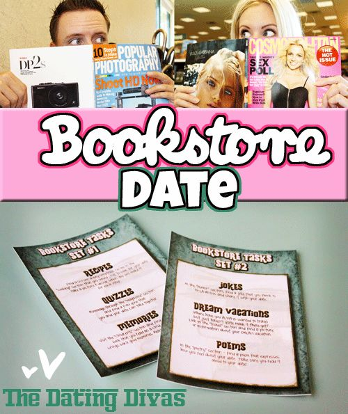 Oh, this one looks like a GOOD ONE! Fun, Easy, and FREE Bookstore Date Night (with free printables:)