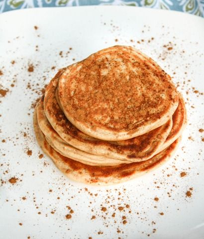 Chia seed greek yogurt pancakes