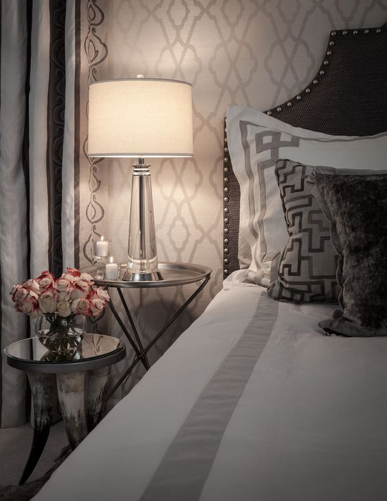 Bedroom Detail - Contemporary - Bedroom - Images by Beckwith Interiors