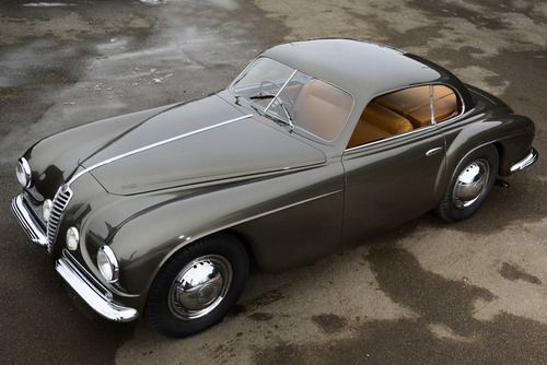1950 Alfa Romeo 6C 2500SS Villa d'Este Coupé by Touring