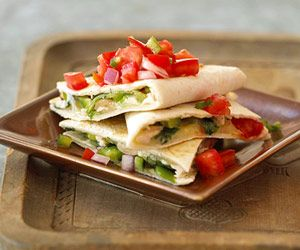 This kid-favorite entree can be ready to serve in less than 30 minutes. When preparing this recipe, treat yourself to the authentic taste and texture of Mexican melting cheese such as asadero, Chihuahua, or queso quesadilla.