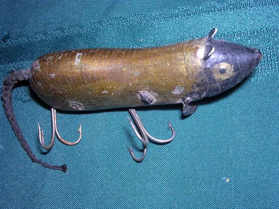 Handmade fishing lure
