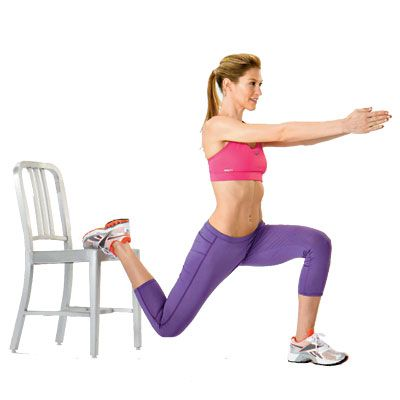10 Minute Chair #Workout