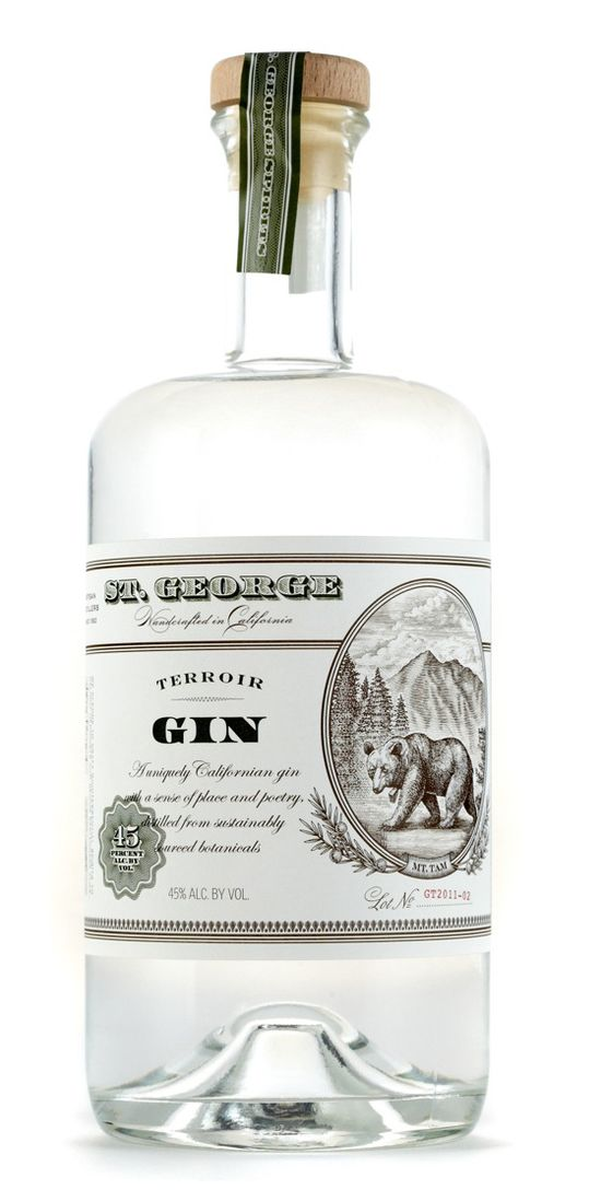 St. George Spirits Illustrated Labels.... by Steven Noble, via Behance