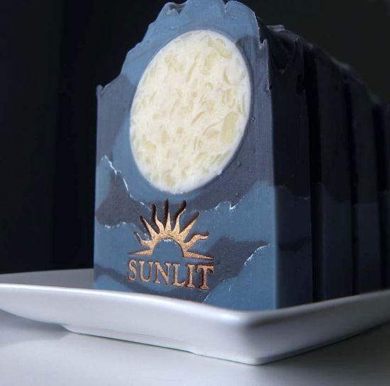 Handcrafted Artisan Soap. Fresh, outdoorsy fragrance. Moonlit. $6.50, via Etsy.