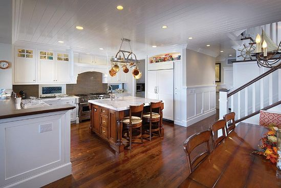 Kitchen Design Kitchen Design Kitchen Design Like the way the wall near stairs is made so it all blends together...jbw