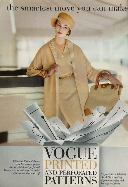 March Vogue 1957