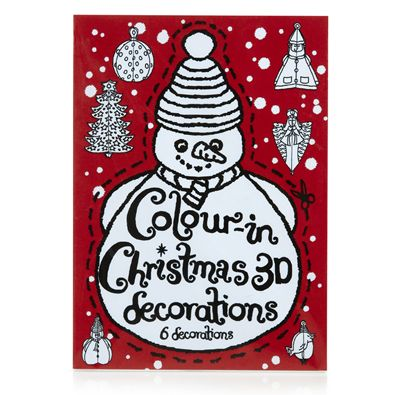 Colour in Christmas decorations