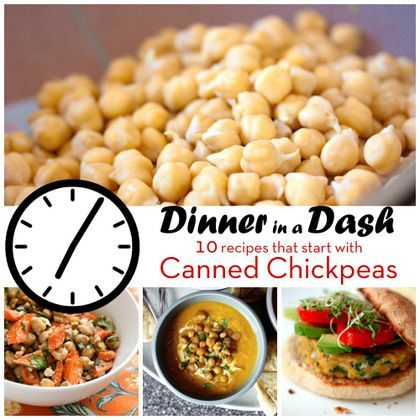 Dinner in a Dash: 10 Recipes that Start with Canned Chickpeas