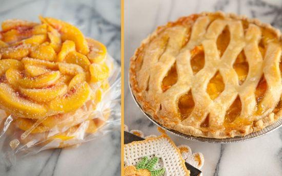 Paula Dean peach pie