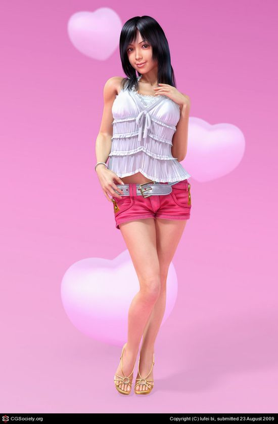25 Glamorous 3D Character Designs and Hot 3D Models for your inspiration. Follow us