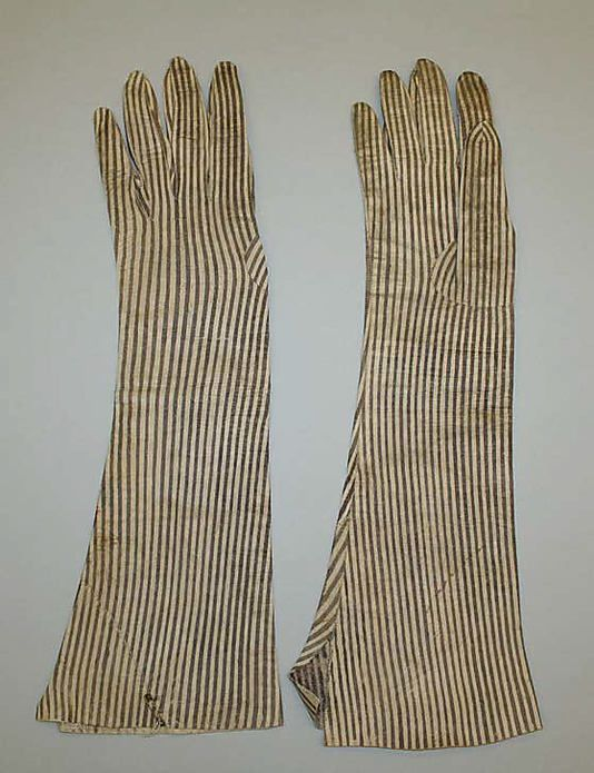 Gloves, Late 18thc., Italian, Made of leather