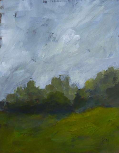 original landscape painting pamela munger. $45.00, via Etsy.