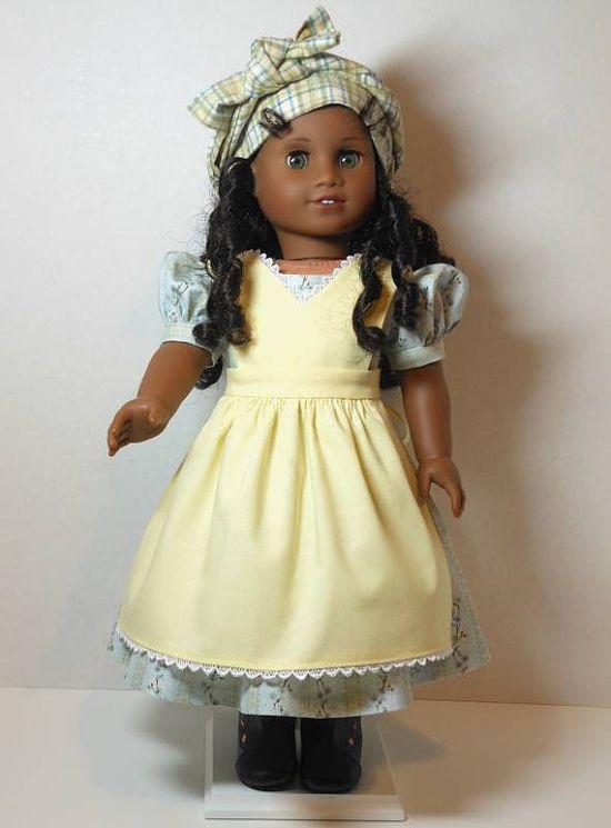 Cecile's Orphanage Dress Apron Pinafore