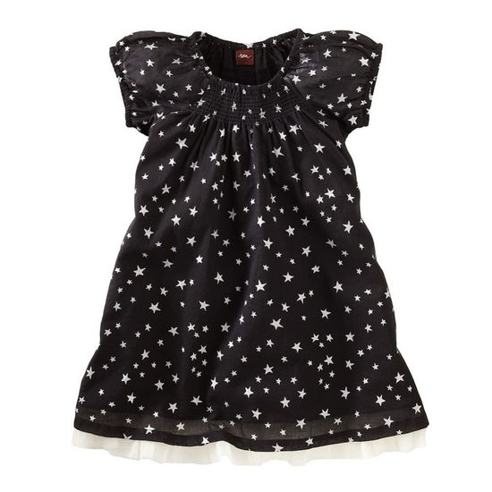 Baby Girl Black Party Dress With Bloomers