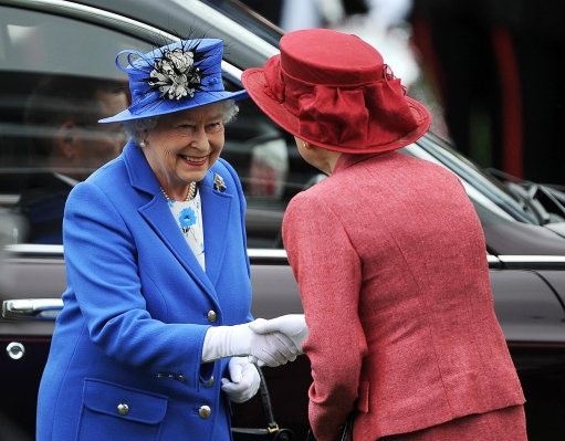 Diamond Jubilee, Day One: The Epsom Derby by The British Monarchy, via Flickr