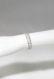 Bracelets - Multi Oval Rhinestone Bracelet