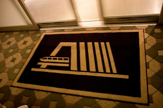 Doormat, Contemporary Resort, Walt Disney World