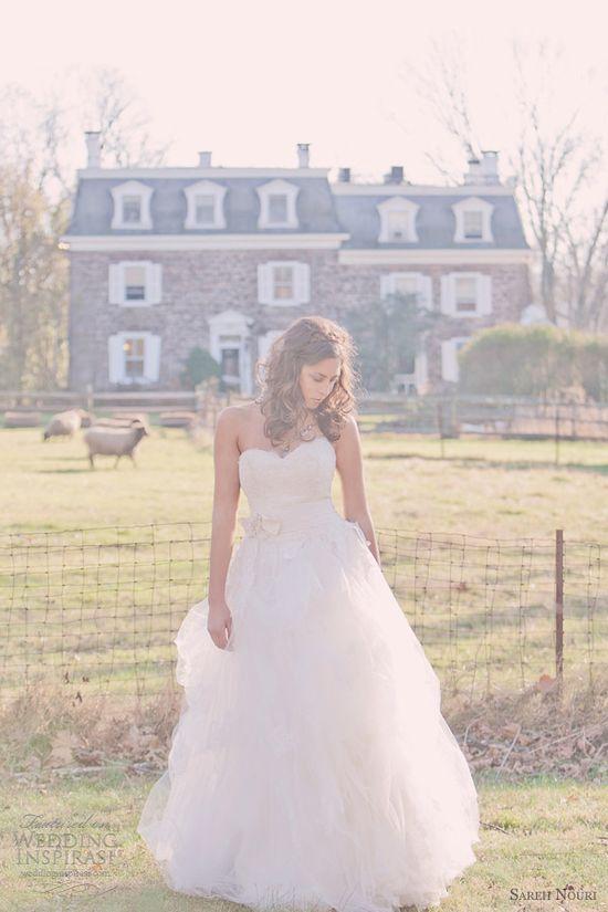 sareh nouri wedding dresses 2013