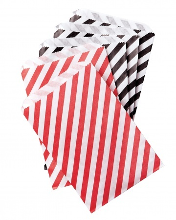 carnival party - Candy Stripe Party-Favor Bags