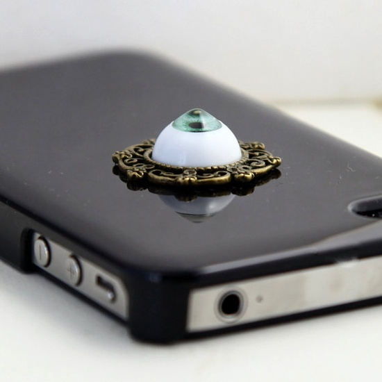 harry potter evil eye Iphone 4 Case Cover, iPhone 4s Case, iPhone 4 Hard Case, Black iPhone Case