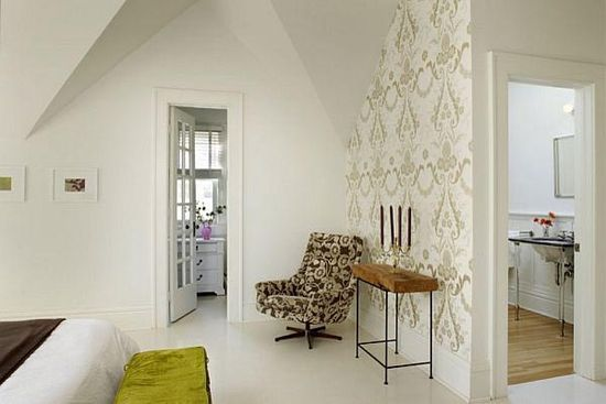 Stunning Large White Tiles Flooring Design