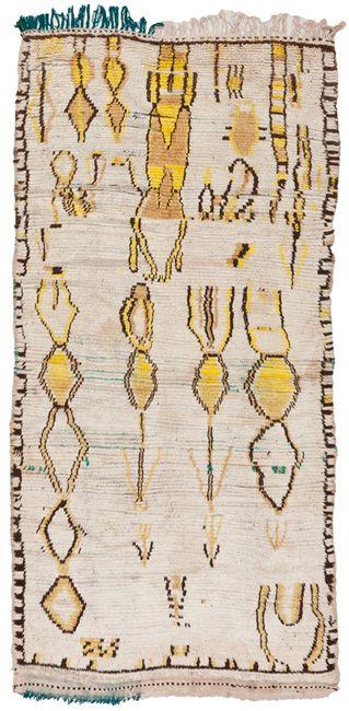 vintage Maroccan rug